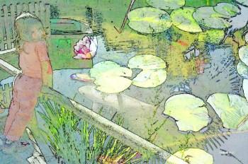 Le bassin magique sur le site d'ARTactif
