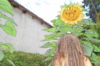 Sourire tournesol sur le site d'ARTactif