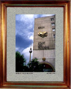 Allemagne,Berlin ville de paix 1996 sur le site d'ARTactif
