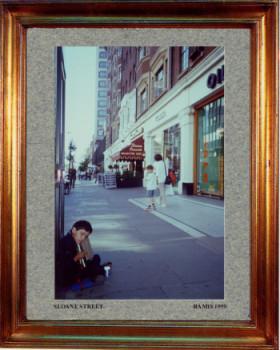 Angleterre, Londres Soane street 1999 sur le site d'ARTactif