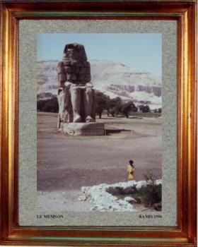 Egypte; le Momnon 1996 sur le site d'ARTactif
