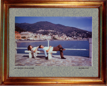 Italie, au soleil d'Alassio 1995 sur le site d'ARTactif