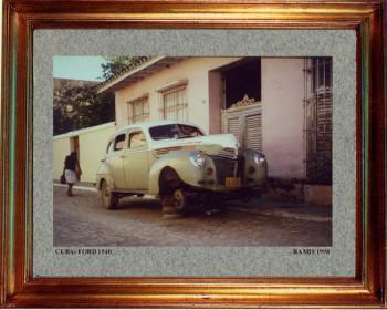 Cuba, Ford 1940 sur le site d'ARTactif
