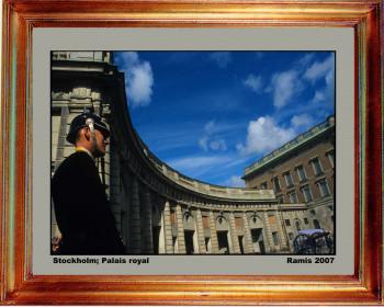 Suede, Palais royal de Stockholm 2007 sur le site d'ARTactif
