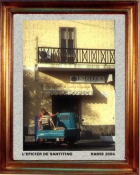 Italie, Sardaigne l'épicier de Santitino 2004 sur le site d'ARTactif