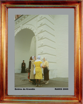 Russie, Moscou entrée du Kremlin 2005 sur le site d'ARTactif