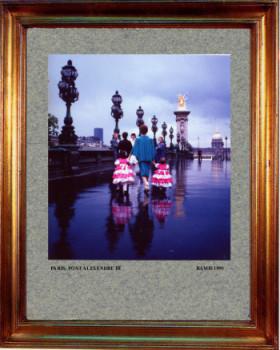 France 1990, Paris pont Alexandre III sur le site d'ARTactif