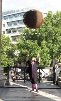 Sphère en Sphère sur le site d'ARTactif