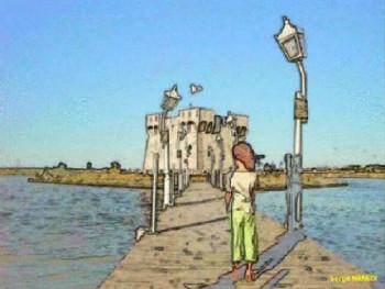 Le chemin du château sur le site d'ARTactif