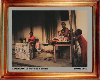 Cameroun, la machine à coudre 2010 sur le site d'ARTactif