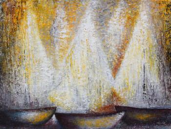 A l'aube sur le site d'ARTactif