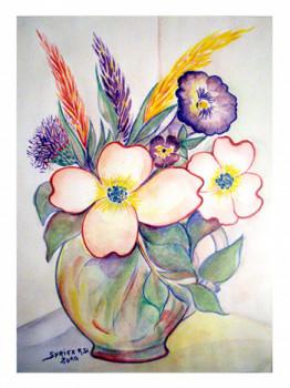 Bouquet champêtre sur le site d'ARTactif
