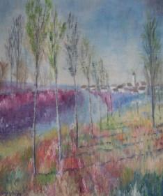 bords du Fusain à Chateau-Landon ,Seine et Marne sur le site d'ARTactif