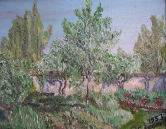cerisier à Chateau-Landon, Seine et Marne sur le site d'ARTactif