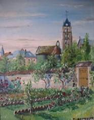 l'église de Chateau-Landon sur le site d'ARTactif