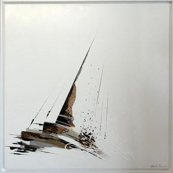 Pied de mât sur le site d'ARTactif