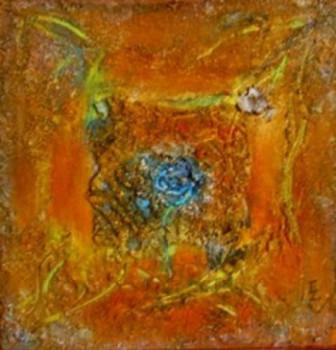 Jardin Zen à la rose bleue sur le site d'ARTactif