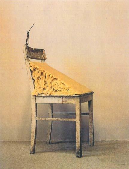 Joseph Beuys - Chaise en graisse - 1964-85