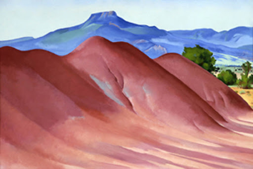 Georgia O'Keefe - Red Hills with the Pedernal